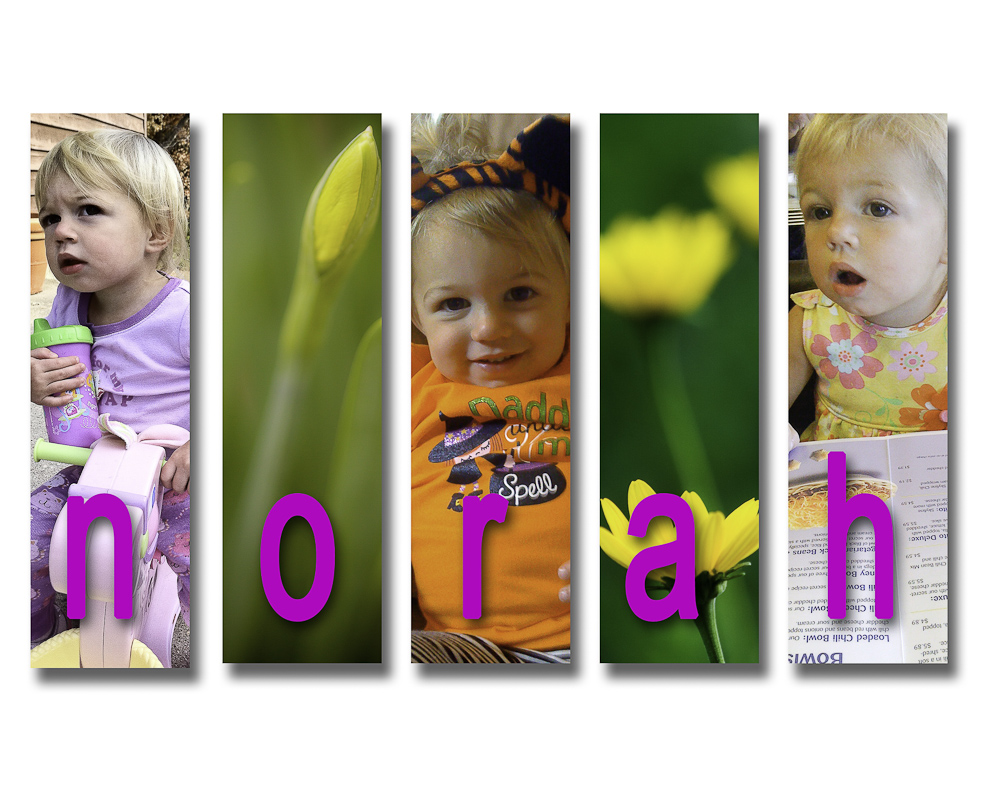 Fun with Photoshop - Miss Norah